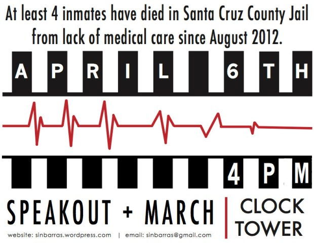 April 6 Speakout and March